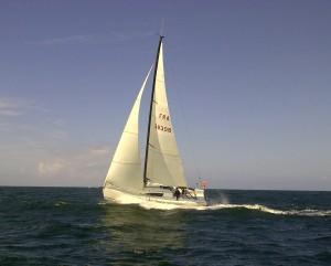 Retour de la course des Iles en 2012